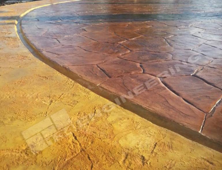 คุณประโยชน์ของแผ่นพิมพ์ลายคอนกรีตสีพื้นไม้